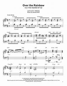 over the rainbow sheet music oscar peterson piano transcription