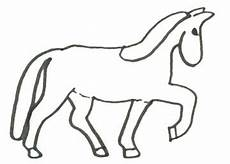 Malvorlage Pferd Einfach Malvorlage Pferd Einfach X13 Ein Bild Zeichnen