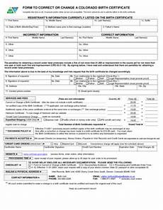 9 printable birth certificate correction application form templates fillable sles in pdf