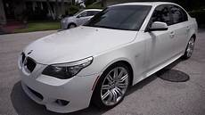2010 Bmw E60 550i M Sport 19 S Alpine White Low