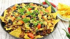 nachos supreme lecker einfach und schnell