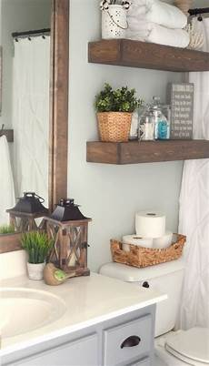 decoration ideas for bathroom farmhouse inspired bathroom makeover bathroom