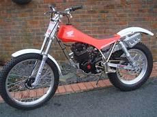 trial motorrad gebraucht the honda trials history 1982 honda tlr250 and tlr200