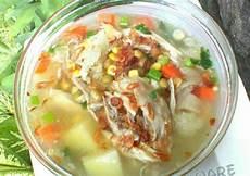 Resep Sup Ayam Jagung Manis Wortel Kacang Polong Dan
