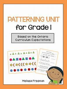 identifying patterns worksheets for grade 1 123 patterning unit for grade 1 ontario curriculum 1st grade math worksheets grade math
