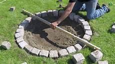 granit feuerstelle selber bauen einfach und schnell diy