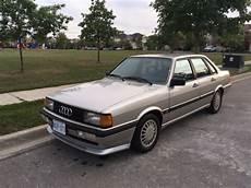 car repair manuals online pdf 1987 audi 4000 navigation system 1986 audi 4000 s quattro typ 85 classic audi 4000 quattro 1986 for sale