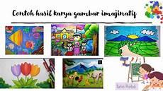 Contoh Gambar Imajinasi Untuk Anak Sd