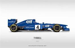 2013 Formula One Cars Rendered With Classic Liveries