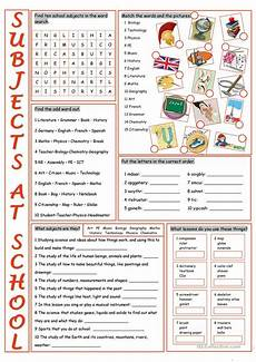 school subjects vocabulary exercises worksheet free esl printable worksheets made by teachers
