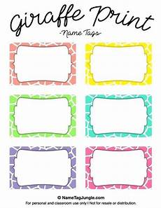 name tag templates word download free editable printable labels for kids template kid name