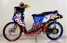 Modifikasi Motor Fino Sporty by Modifikasi Motor Yamaha Mio Fino Sporty Modifikasi Motor