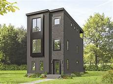 modern house plans for narrow lots plan 68634vr contemporary 3 story home ideal for narrow