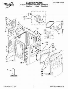 parts for whirlpool wed6400sb1 dryer appliancepartspros com