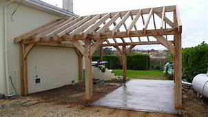 Garages And Car Ports  Oak Timber Framing & Carpentry In