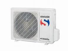 klimaanlage a inverter wandger 228 t sinclair vision