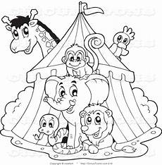 Malvorlagen Zirkus Royalty Free Coloring Sheet Stock Circus Designs