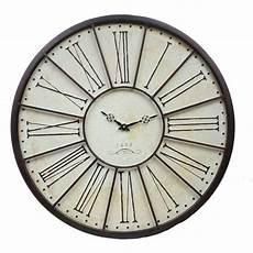 grande horloge murale 224 l ancienne de gare relojes