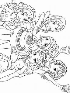 Malvorlagen Lego Friends Lego Friends Coloring Pages Free Printable Lego Friends