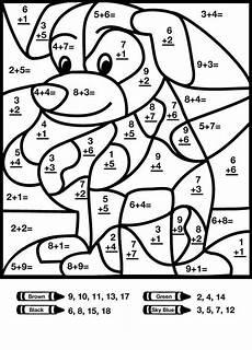 2nd grade color by number worksheets 16103 free printable color by number coloring pages 2nd grade math worksheets math math pages