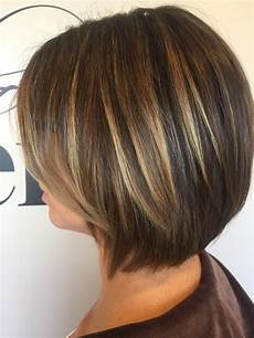 color partial highlight haircut and dry 95 brightened up this cute bob getting ready