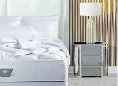 kissen set bett w hotels pillow top bed bedding set shop five
