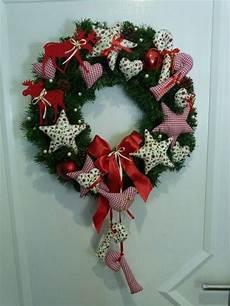 weihnachtsdeko t 252 rkranz weihnachten sterne herzen