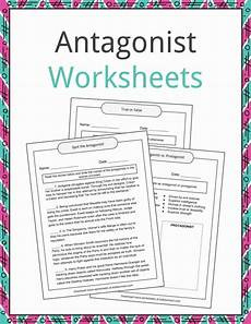 antagonist exles definition and worksheets kidskonnect