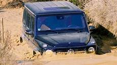 mercedes shows you how to take the g class through water