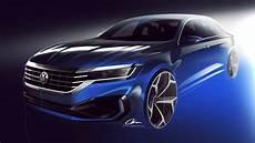volkswagen passat 2020 more muscular us bound sedan
