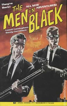 in black in black 1991 2nd series aircel comic books