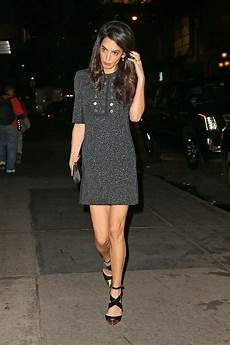 amal clooney style amal clooney in the new ballerina shoe vogue