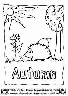 Gratis Malvorlagen Herbst Autumn Coloring Pages To And Print For Free