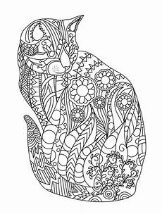mandala animals coloring pages 17079 cat colorish coloring book for adults mandala relax by goodsofttech boyama sayfaları
