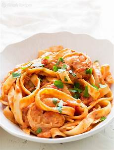 Shrimp Pasta Alla Vodka Recipe With