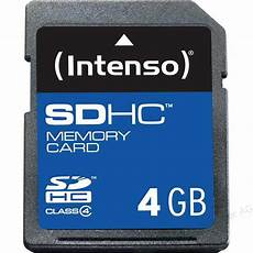 intenso 4 gb sd karte