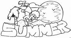 Malvorlagen Sommer Gratis Sommer Ausmalbild Malvorlage Comics