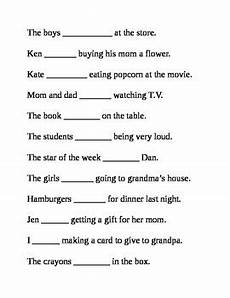 helping verbs was and were worksheet by mccrimmon tpt