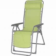 chaise longue jardin chaise longue de jardin babou