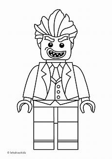 Malvorlage Batman Lego Coloring Page For Lego Joker From The Lego Batman