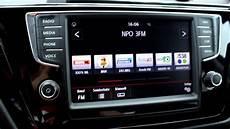 01 vw touran infotainmentsystem das radio