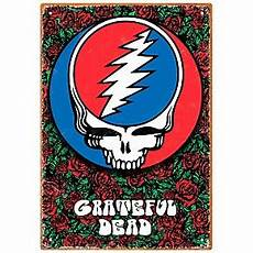 Hal Leonard Grateful Dead Roses Tin Sign Guitar Center