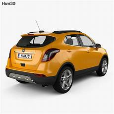 Opel Mokka X With Hq Interior 2017 3d Model Vehicles On