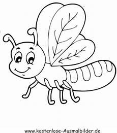 Insekten Ausmalbilder Kostenlos Ausmalbilder Lustiges Insekt Tiere Zum Ausmalen
