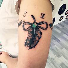 40 irresistible bow tattoo ideas you would want to sport now