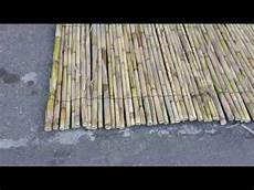 stuoie di canne tenda arella in canna cestre con fogliame