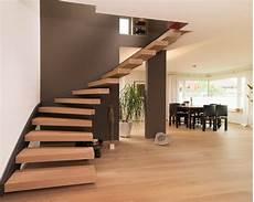offene treppe im wohnbereich modern treppen