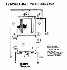 fitting an electrical shaver point how to fit a shaving