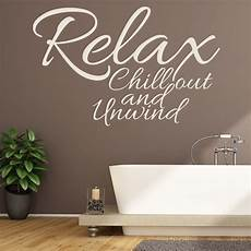 wall sticker decal quotes relax chill out wall sticker bathroom quote wall decal