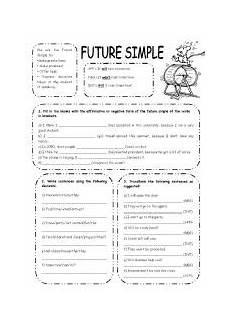 future simple exercises esl worksheet by elisabeteguerreiro